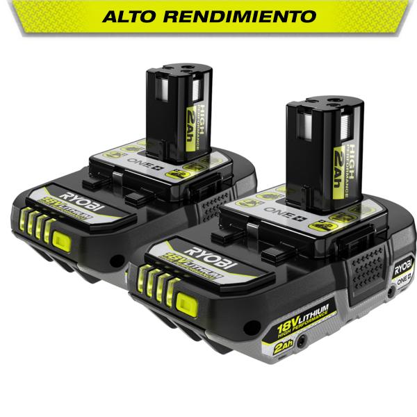 Foto del producto: Batería compacta de alto rendimiento ONE+ de 2.0 Ah y 18 V (paquete de 2 unidades)