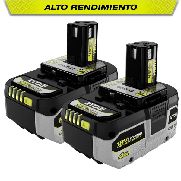 Foto del producto: Batería de alto rendimiento ONE+ de 4.0 Ah y 18 V (paquete de 2 unidades)