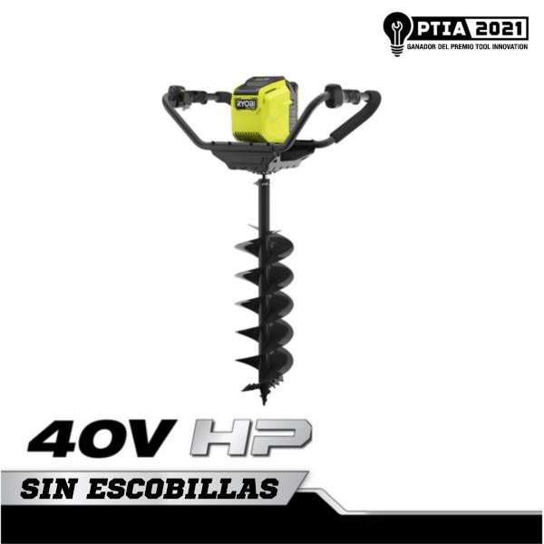 "Foto del producto: Kit de barrena HP de 8"", sin escobillas, 40 V"